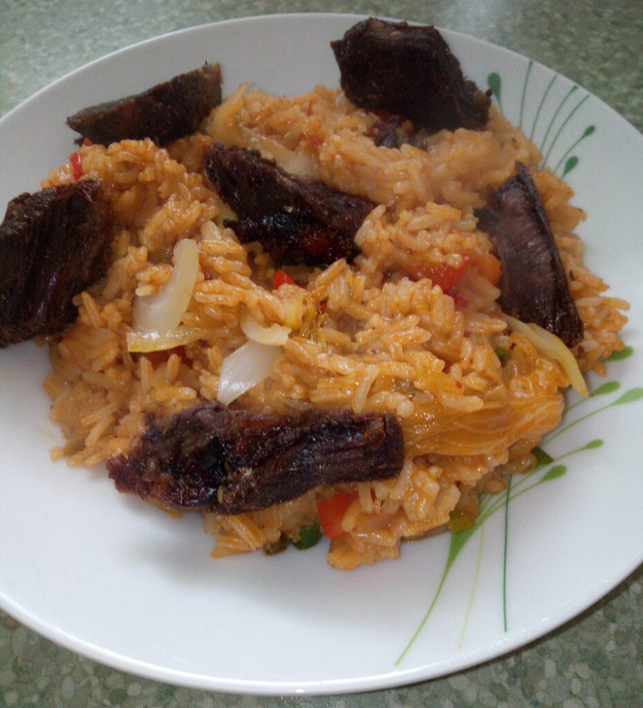 Riz au gras neboli Africká rýže