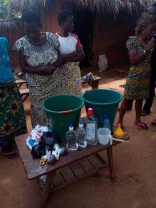 Projekt výroby tekutého mýdla ve vesnici Aklakou