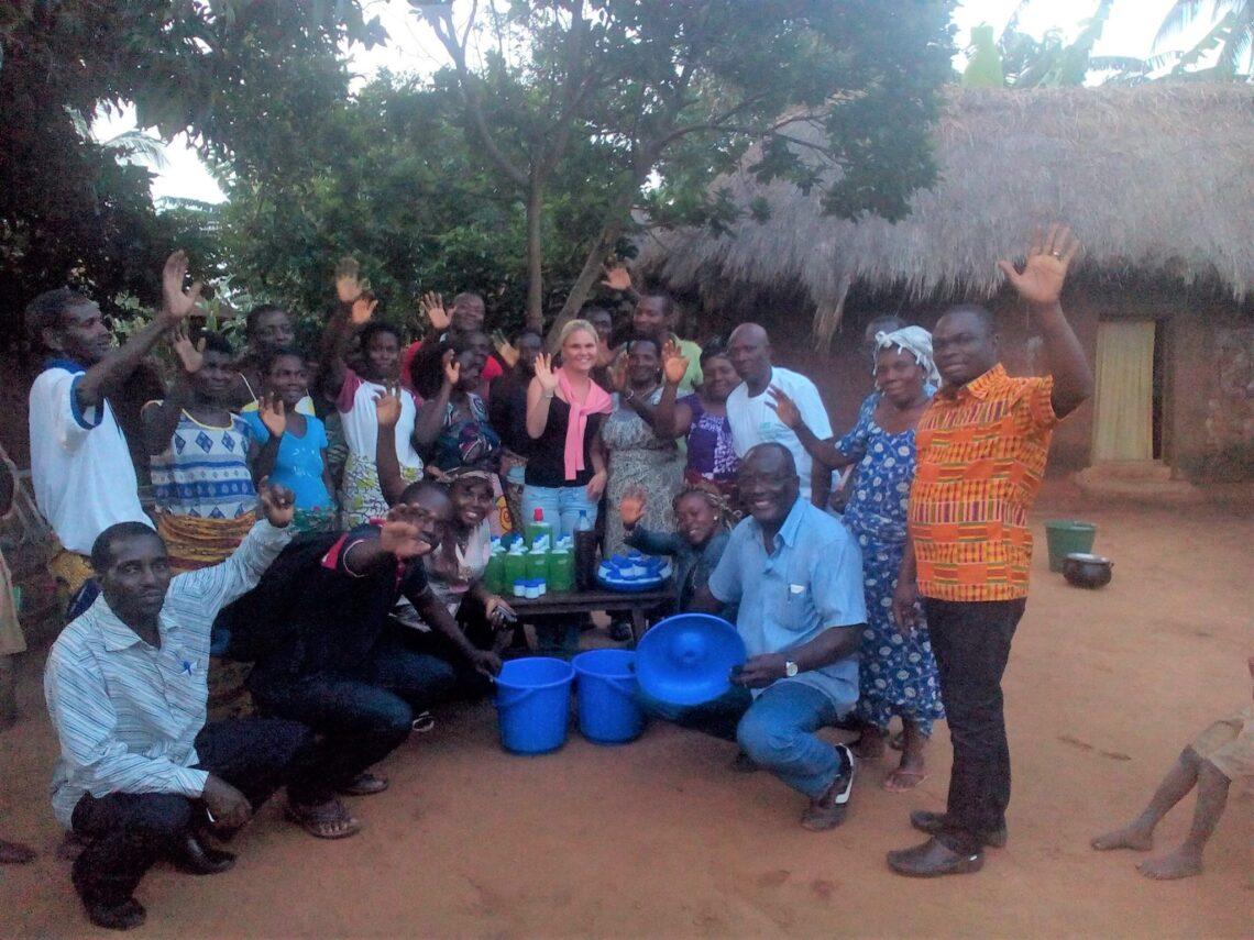 Projekt pro rozvoj vesnice Aklakou