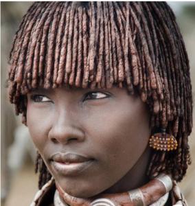 Africké vlasy