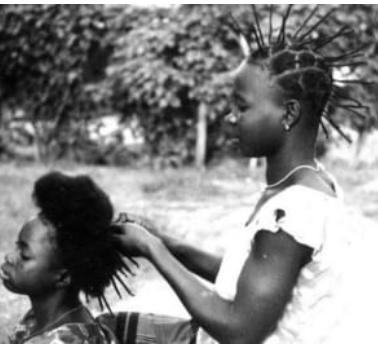 Africké účesy