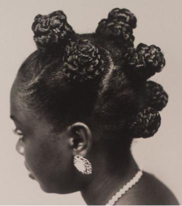 Bantu styl afrických vlasů