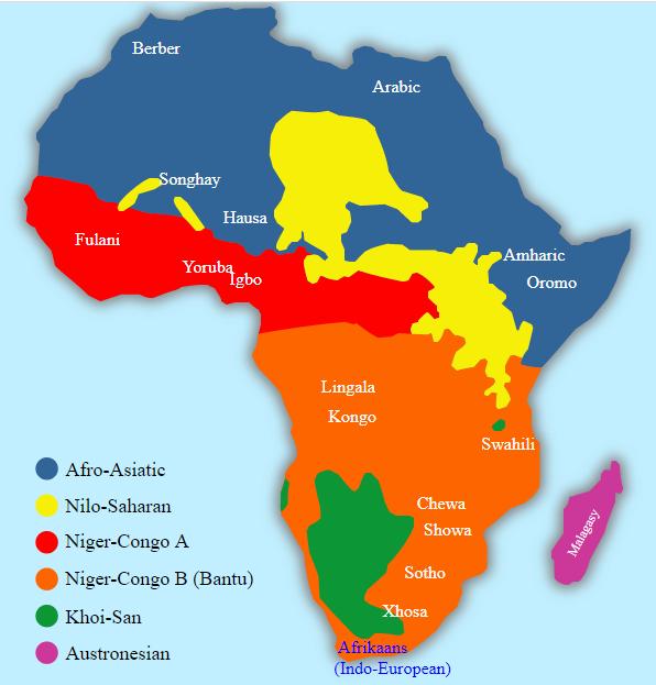 Africké jazykové skupiny